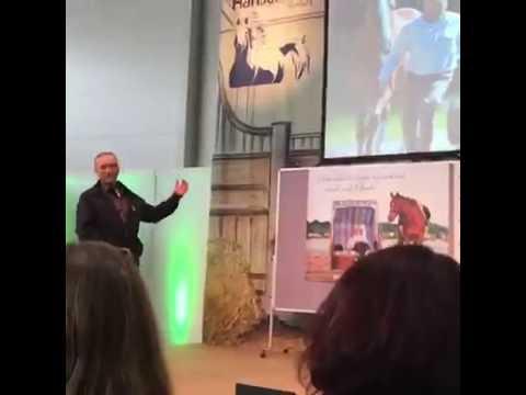 Wolfgang Marlie (Reiterpension Marlie) auf der Hanse Pferd Messe 2016