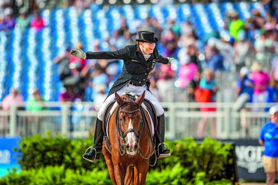 Tryon FEI World Equestrian Games' ¢ 2018 WERTH Isabell GER Bella Rose Tryon FEI World Eques Tryon - FEI World Equestrian Games' ¢ 2018, WERTH Isabell (GER), Bella Rose Tryon - FEI World Equestrian Games' ¢ 2018 Grand Prix Special Einzelentscheidung 14. September 2018 ¬© - *** Tryon FEI World Equestrian Games 2018 WERTH Isabell GER Bella Rose Tryon FEI World Equestrian Games 2018 Grand Prix Special Individual Decision 14 September 2018 ©