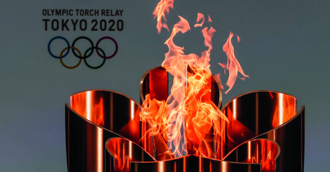 (210325) -- FUKUSHIMA, March 25, 2021 -- The celebration cauldron is seen lit on the first day of the Tokyo 2020 Olympic 210325 -- FUKUSHIMA, March 25, 2021 -- The celebration cauldron is seen lit on the first day of the Tokyo 2020 Olympic torch relay at J-Village National Training Center in Futaba, Fukushima of Japan, on March 25, 2021. /Pool via Xinhua SPJAPAN-FUKUSHIMA-TOKYO 2020-TORCH-RELAY KimxKyung-Hoon PUBLICATIONxNOTxINxCHN