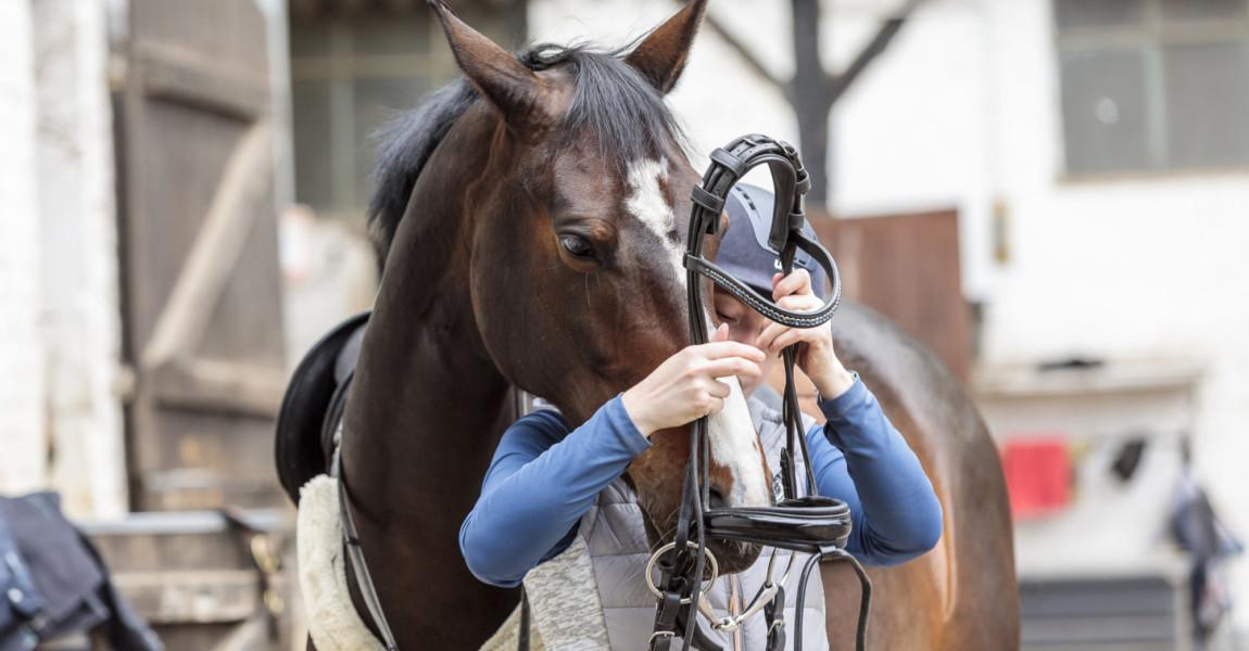Mein Pferd Shooting für das Mein Pferd Magazin am 16.05.2021 in Köln Foto: DANIEL ELKE