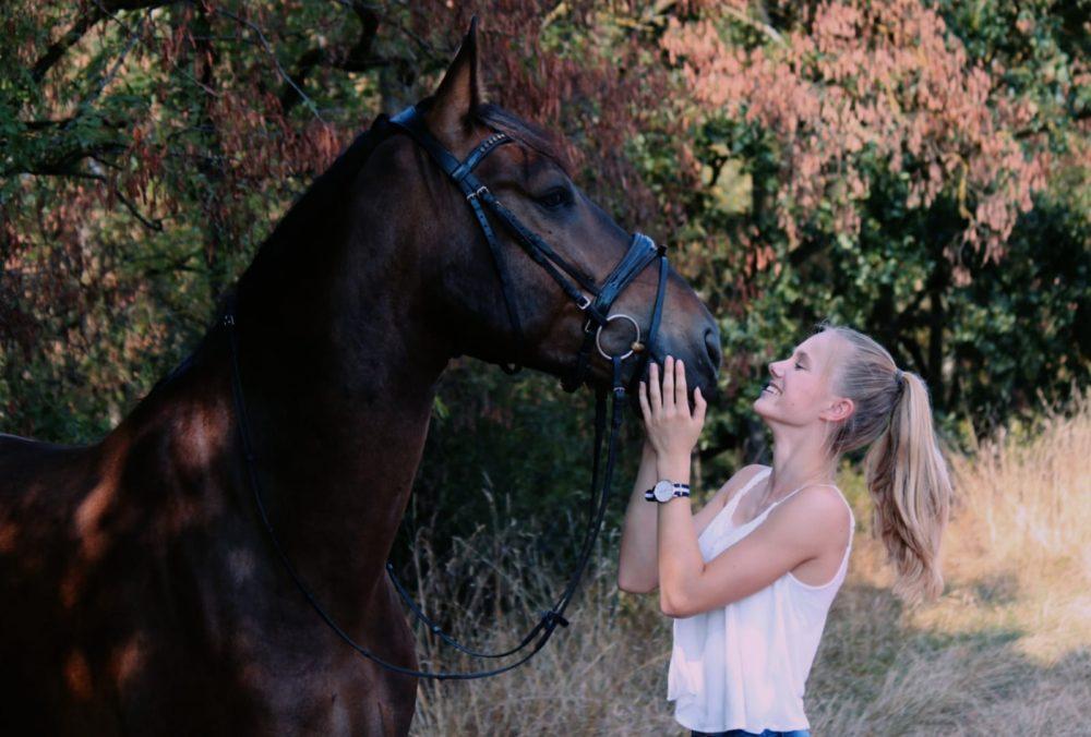 Sieh in die Augen deines Pferdes,sie sind der Spiegel deiner Seele.