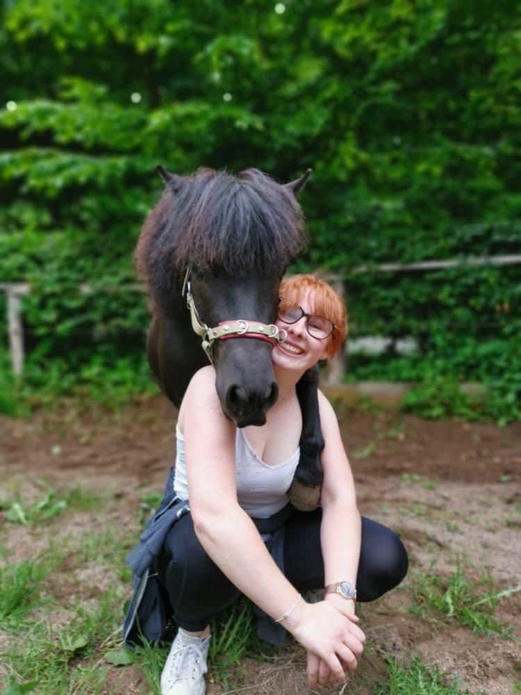 Du triffst kein Pferd zufällig!🥰