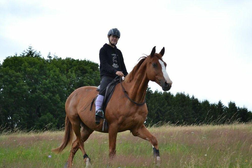 Mit Halsring und dem tollsten Pferd 😍
