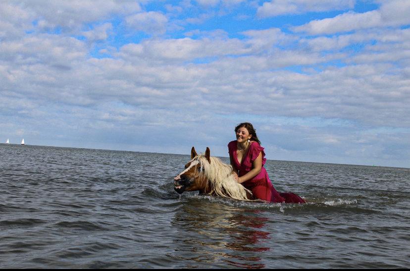 Schwimmen mit meiner Hafistute