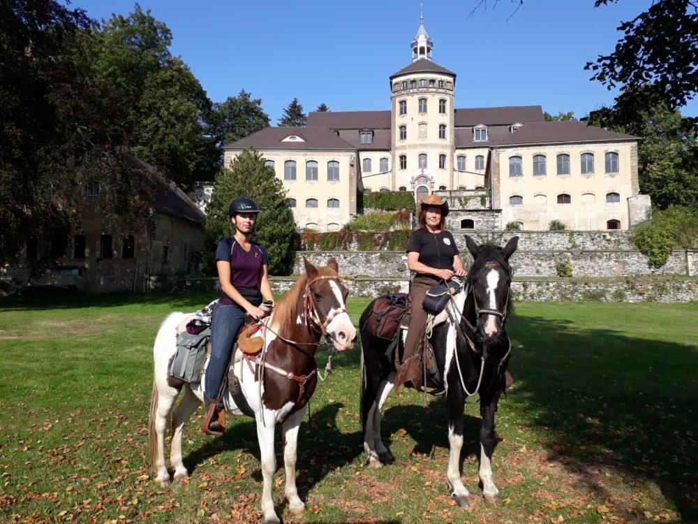 Zeit zu Pferd erleben- Wanderritt mit unseren Pferden durch die Oberlausitz
